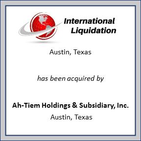Tombstone for International Liquidation
