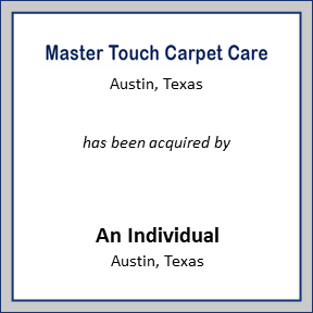 Tombstone for Master Touch Carpet Care