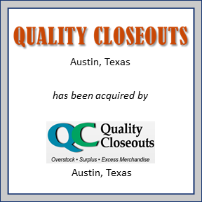 Tombstone for Quality Closeouts