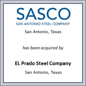 Tombstone for Sasco San Antonio Steel Co