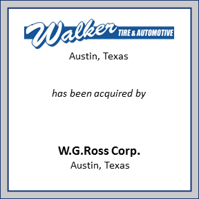 Tombstone for Walker Tire & Automotive