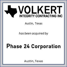 Tombstone of Volkert Integrity Contracting Inc.