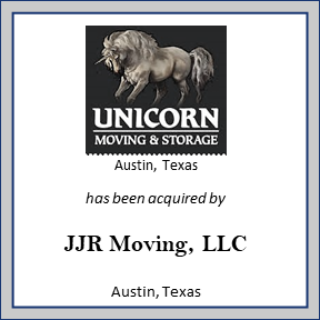 Tombstone for Unicorn Moving
